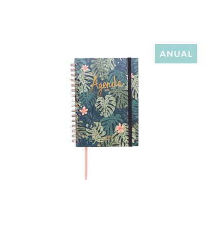 "Agenda anual 2019 ""Paradise"" Semana vista"