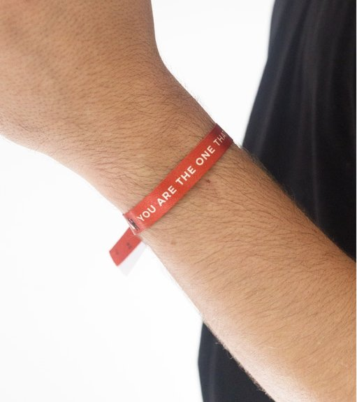 "Pulsera ""You are the one that i want"""
