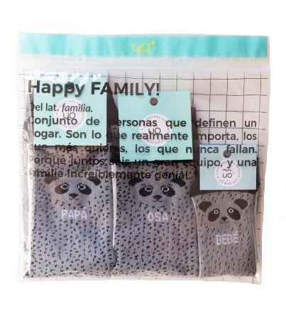 "Kit Family ""Familia Oso Panda"""