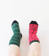 "Mini Calcetines ""A vivir que son sandías"""