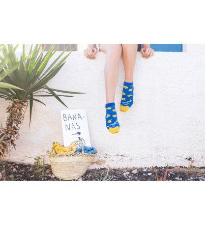 """Calcetines """"¡Hazlo y banana ya veremos!"""""""