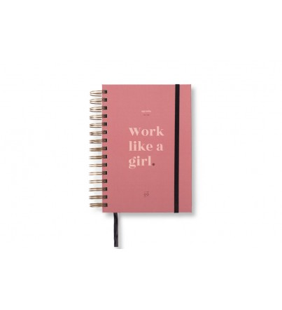 "Agenda ""Work like a girl"" Día Página 2019-2020"