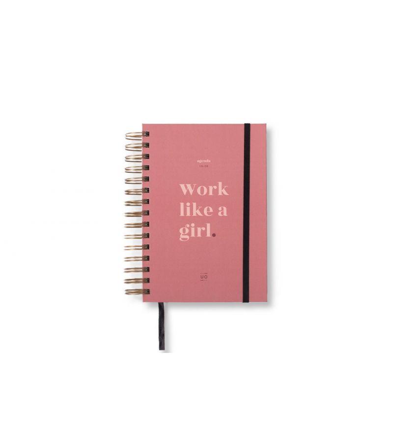 "Agenda ""Work like a girl"" Día Página 2019-2020"