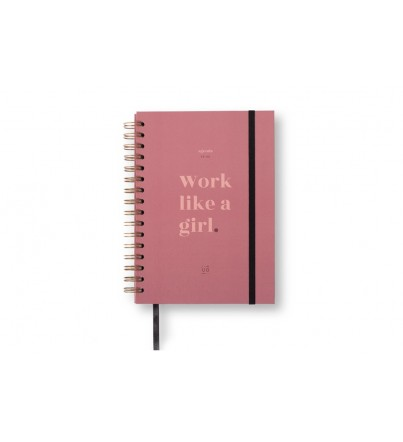 "Agenda ""Work like a girl"" Semana Vista 2019-2020"