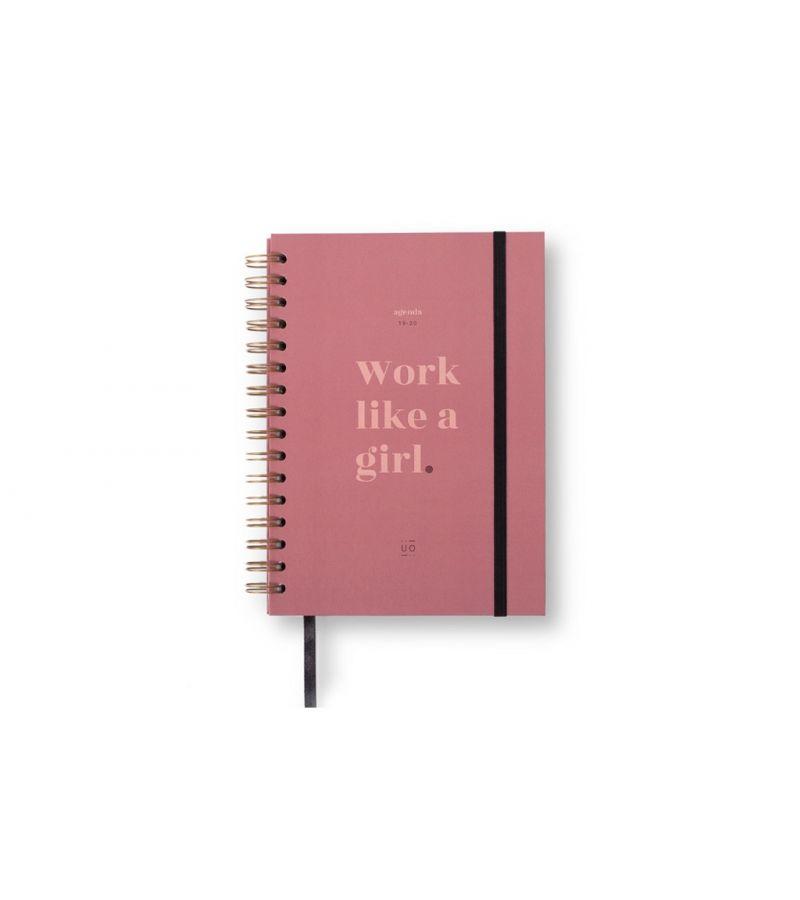 "Agenda ""Work like a girl"" Semana Vista 2019-2020"