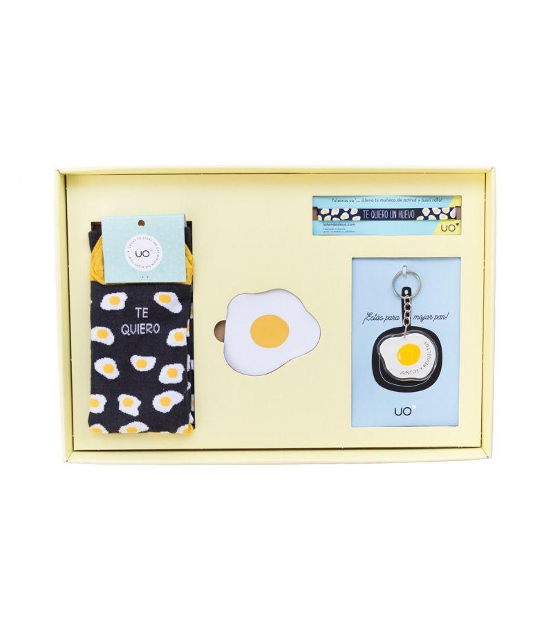 """Kit """" Te quiero un huevo"""""""