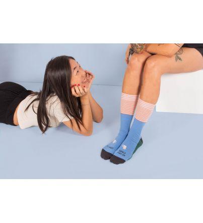 """Calcetines """"No hay otr@ compi como tú"""""""