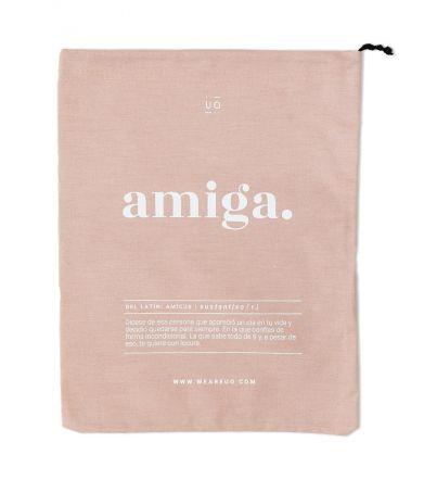 """Bolsa Tela Regalo """"Amiga Definición"""""""
