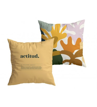 "Funda Cojín ""Actitud Definición"" New Collection"