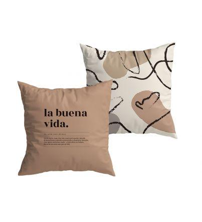 """Funda Cojín """"La buena vida"""" New Collection"""