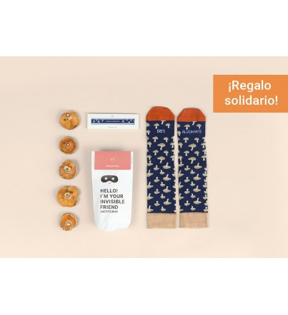"Kit Amigo Invisible ""Eres alucinante"""