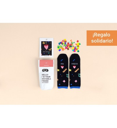 "Kit Amigo Invisible ""Eres fabulous"""