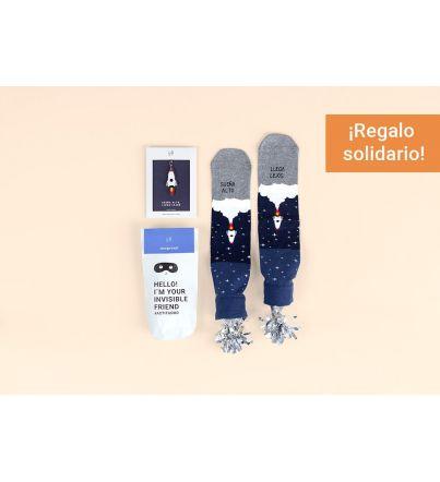"""Kit Amigo Invisible """"Sueña alto, llega lejos"""""""