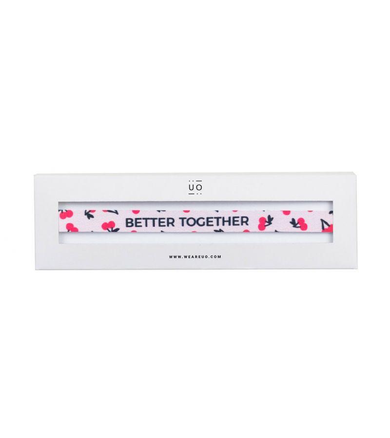 "Pulsera ""Better together"""