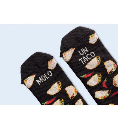 """Mini Calcetines """"Molo un taco"""""""
