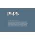 "Funda Cojín ""Papá Definición"" Teja"