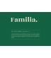 """Funda Cojín """"Familia Definición"""" Verde"""