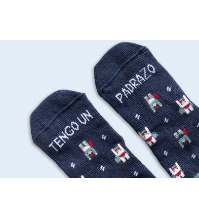 """Mini Calcetines """"Tengo un padrazo"""""""