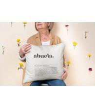 """Funda Cojín """"Abuela Definición"""" Paisaje"""