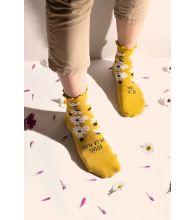 """Calcetines """"Estás en la flor de la vida"""""""