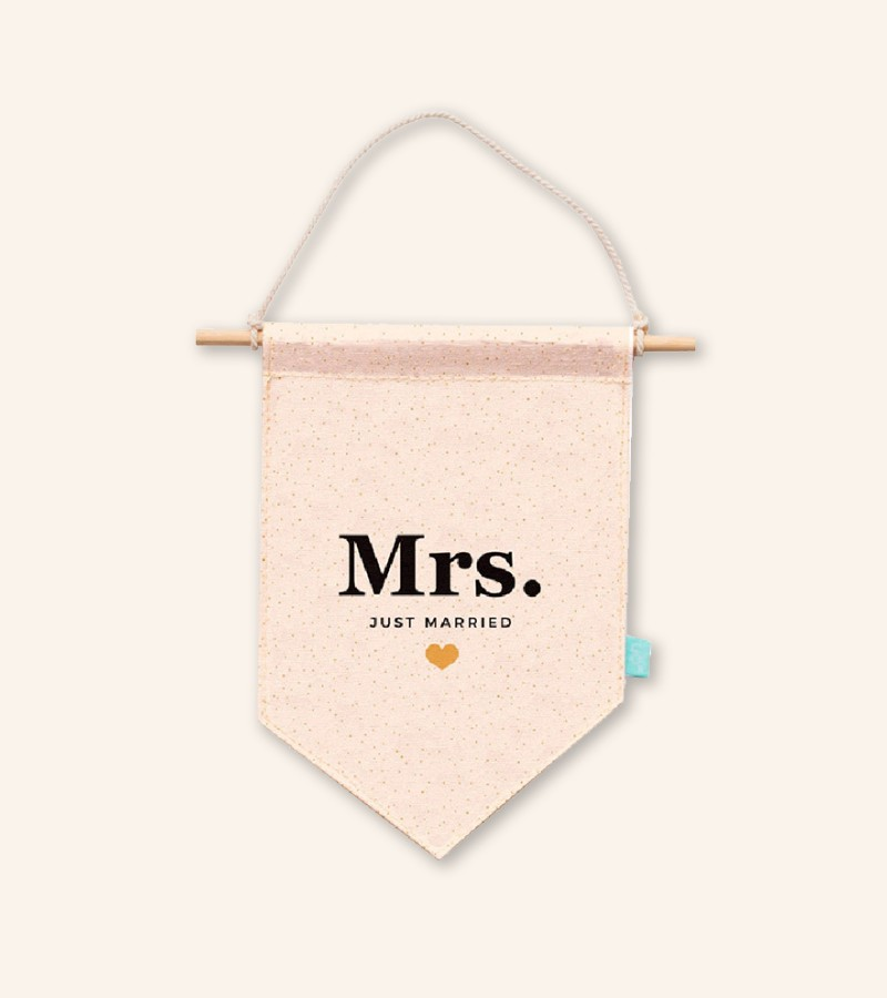 "Banderín ""Mrs"""