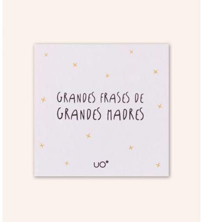 """Libro ilustrado """"Grandes frases de grandes madres"""""""