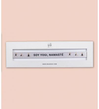 """Pulsera Tela """"Soy yogi"""""""