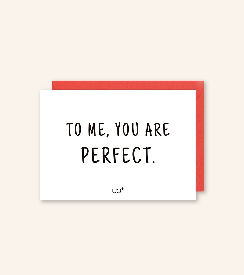 "Postal ""You are perfect"""