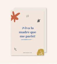 """Postal """"Viva la madre que me parió"""""""