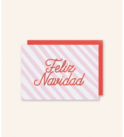 "Postal ""Feliz Navidad"""