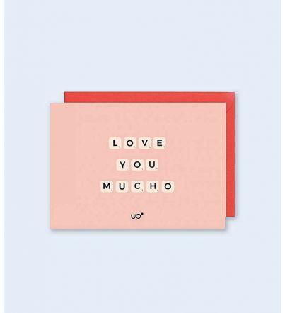 "Postal ""Love you mucho"""