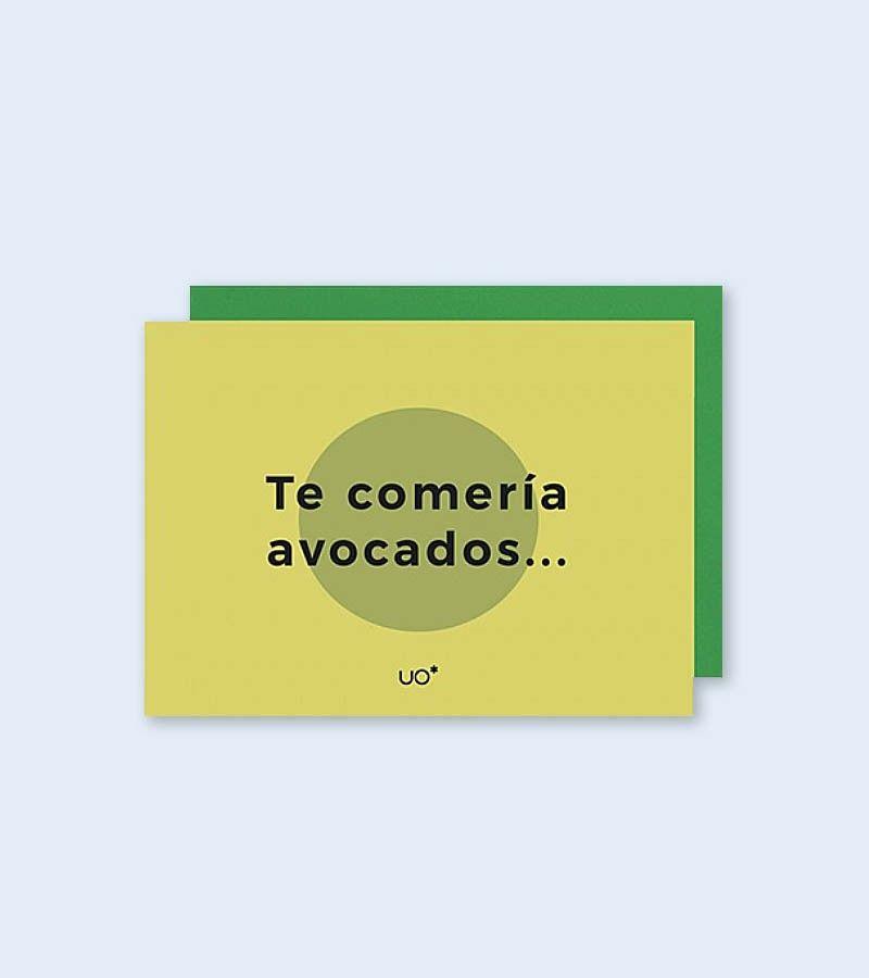 """Postal """"Avocados"""""""
