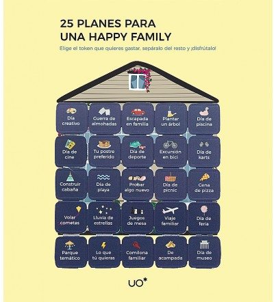 "Postal ""25 planes Happy family"""