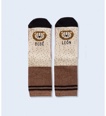 "Mini Calcetines ""Bebé León"""