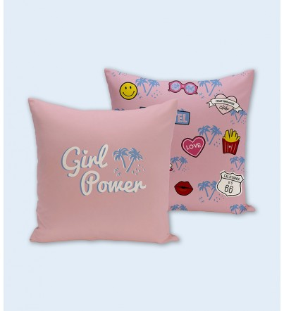 "Funda cojín ""Girl Power"""