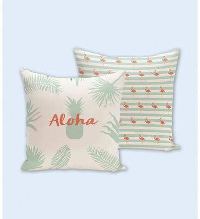"Funda cojín: ""Aloha"""
