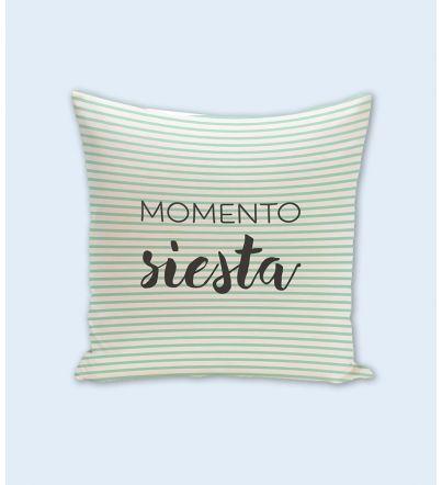 """Funda cojín: """"Momento Siesta"""""""