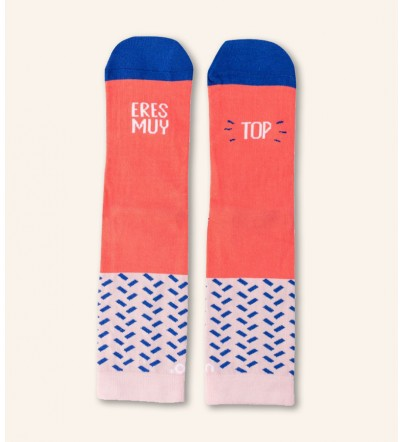 """Calcetines """"Eres muy TOP"""""""