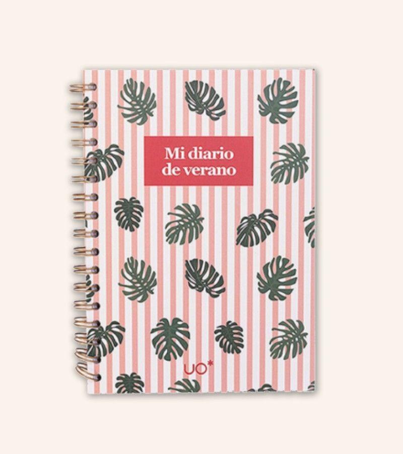 "Libreta ""Mi diario de verano"""