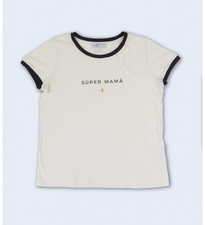 "Camiseta ""Súper Mamá"""