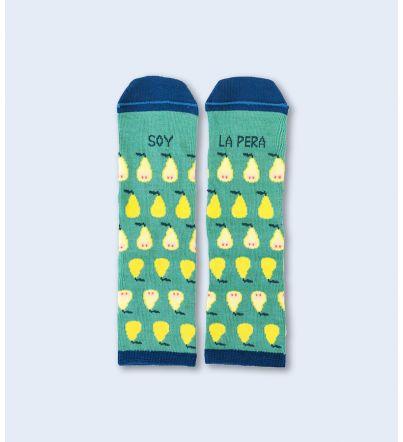 "Mini Calcetines ""Soy la pera"""