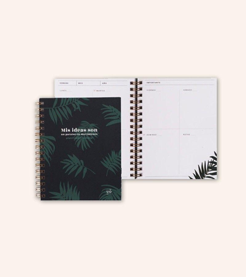 "Planificador Semanal Pocket ""Tropical"""