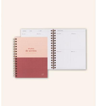 """Planificador Semanal Pocket """"Mi plan de acción"""""""