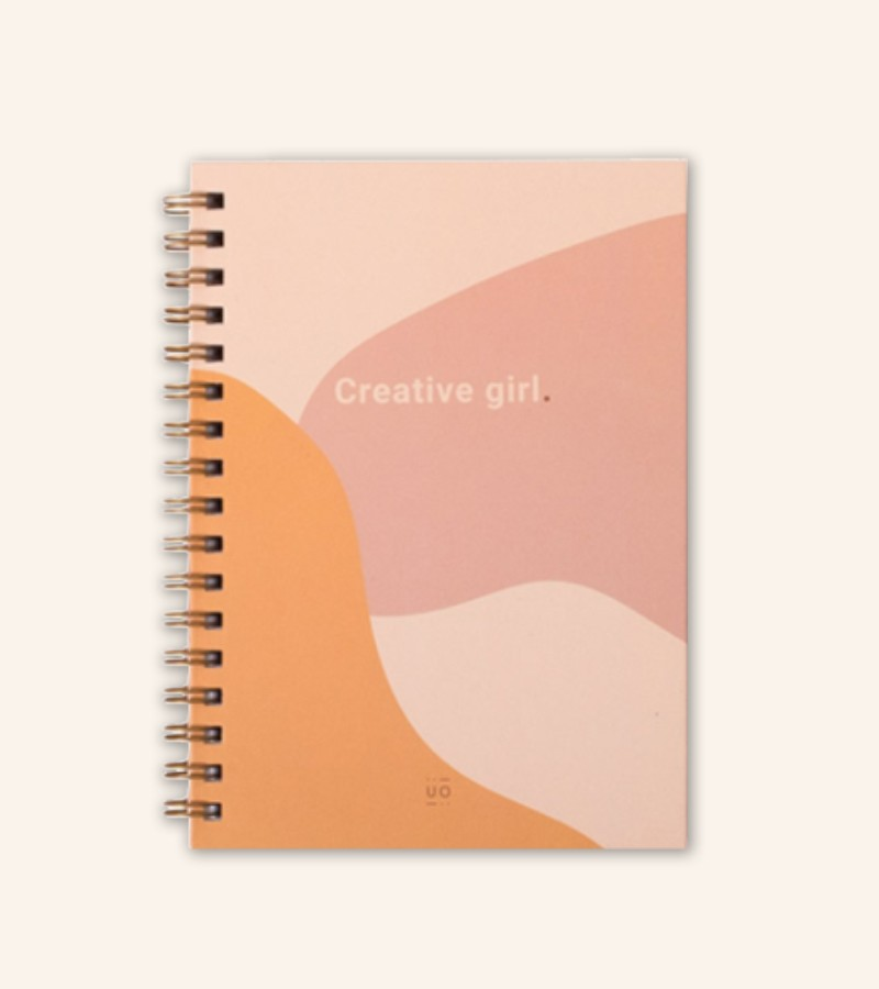 """Libreta """"Creative Girl"""""""