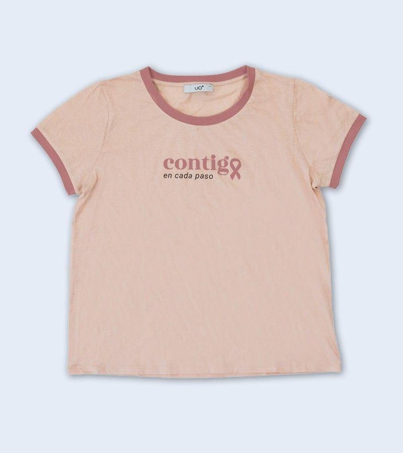 """Camiseta Solidaria """"Contigo en cada paso"""""""