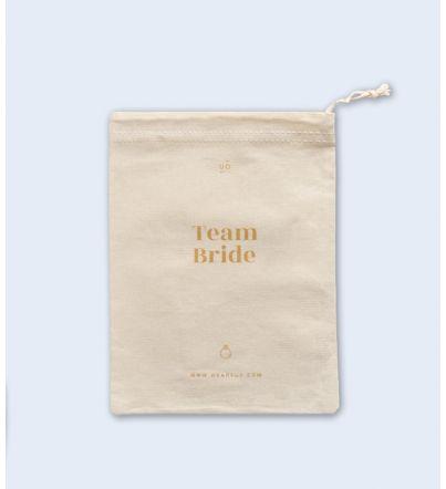 "Bolsa Tela ""Team bride"""