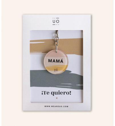 """Llavero Metacrilato """"Mamá Te quiero"""""""