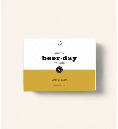 "Kit cumpleaños ""Happy beerday"""