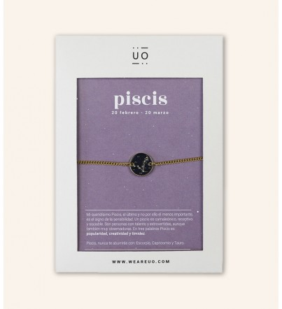 "Pulsera Charm ""Piscis"""