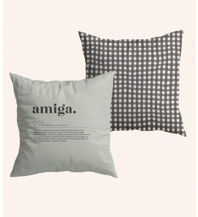 "Funda Cojín ""Amiga...."